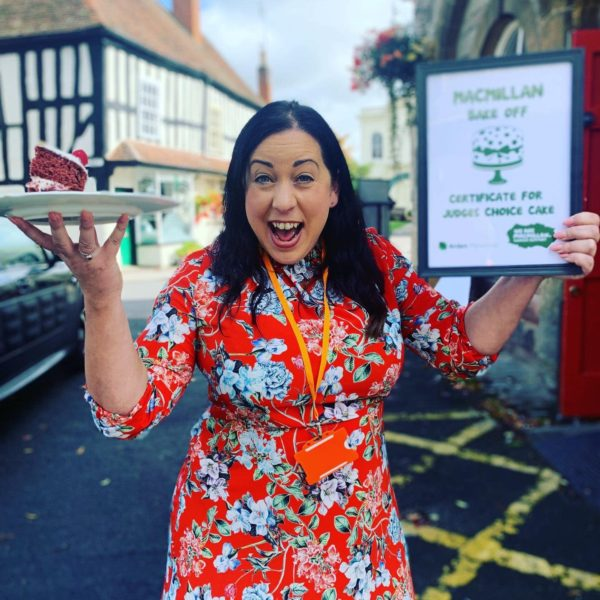 Lissa Fletcher from Arden Personnel won the Macmillan Bake Off